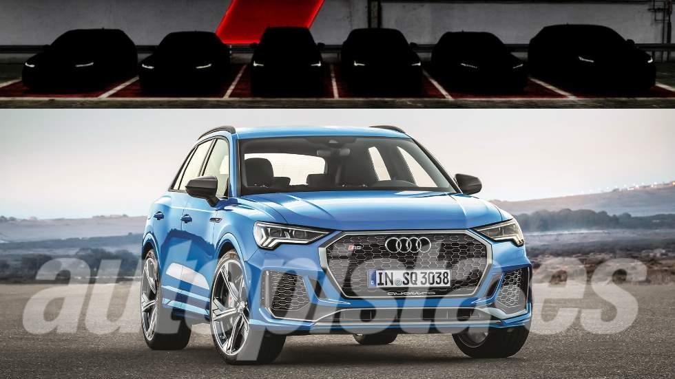 Los nuevos Audi deportivos que vienen: RS 7, RS Q3, RS Q8…