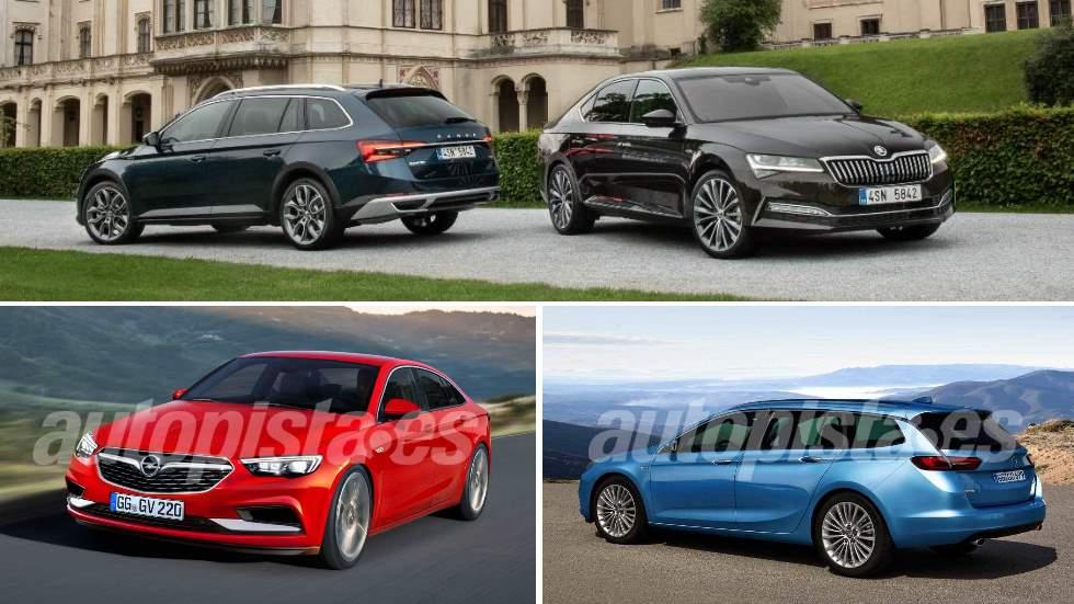 ¿Qué berlina es mejor: Opel Insignia 2020 o Skoda Superb 2019?