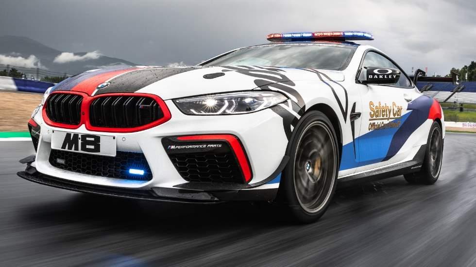"""BMW M8 MotoGP Safety Car: el coche que """"custodia"""" a Marc Márquez y compañía"""
