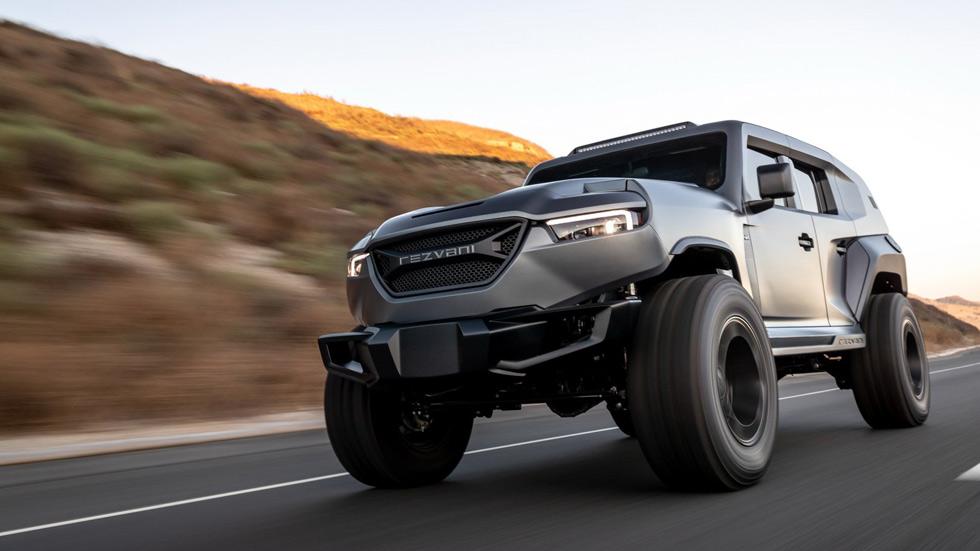 Rezvani Tank: 1.000 CV para el SUV más potente y bestia del mundo