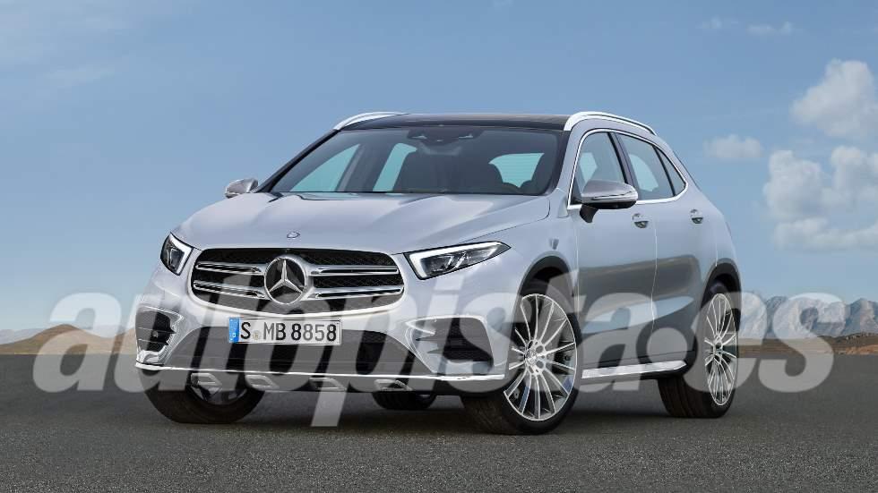 Mercedes GLA 2020: el nuevo SUV compacto basado en el Clase A, casi a punto