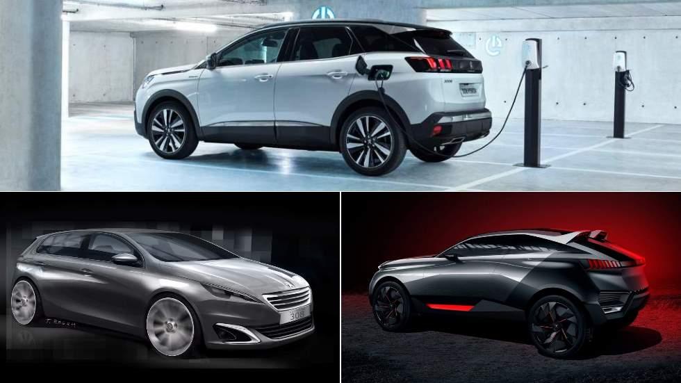 El gran trío de novedades de Peugeot en 2020: nuevos 308, 3008 y 4008