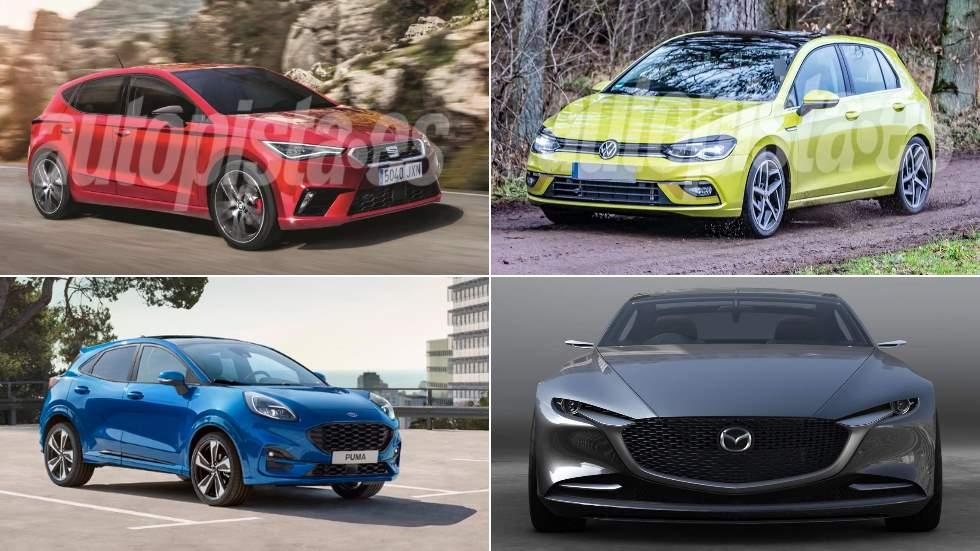 Los 10 mejores coches y SUV de 2020: Golf 8, León IV, Mazda6, Ford Puma, X8…