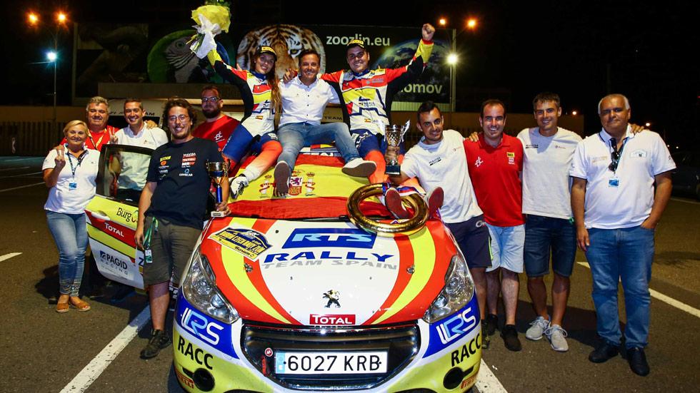 Europeo de Rallyes: Efrén Llarena y Sara Fernández, campeones
