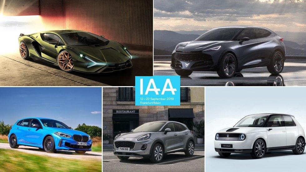 Salón de Frankfurt 2019: todas las novedades de coches y SUV