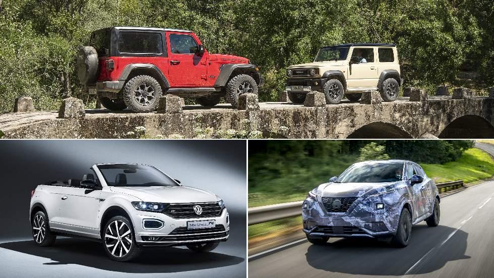 Revista Autopista 3.111: VW T-Roc Cabrio, Nissan Juke, Suzuki Jimny… SUV y 4x4 con carácter