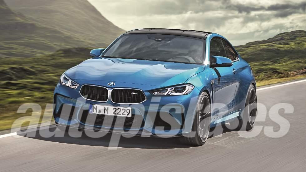 BMW M2 CS 2020: el nuevo coupé deportivo ultima su puesta a punto