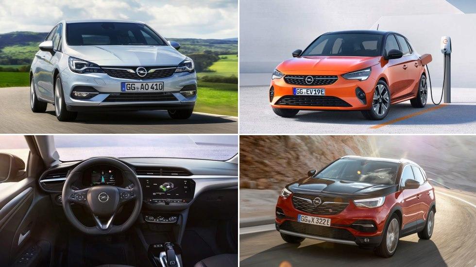 Opel Corsa, Astra y Grandland X 2019: fotos y datos de las novedades que llegan
