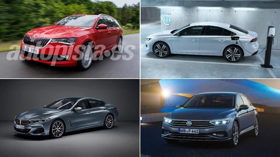 Todas las berlinas que llegan los próximos meses: VW Passat, Skoda Octavia, Peugeot 508 PHEV…