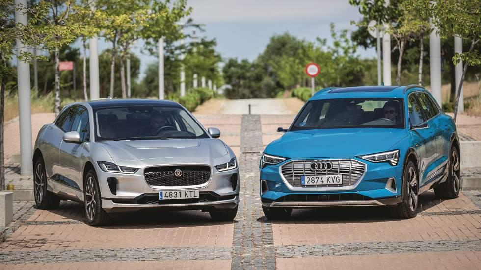 Audi e-tron vs Jaguar i-Pace: toda una lujuria de SUV's eléctricos