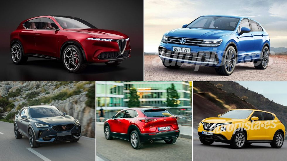 15 nuevos SUV que merece la pena esperar: Tonale, CX-30, Cupra, Juke, Tiguan Coupé…