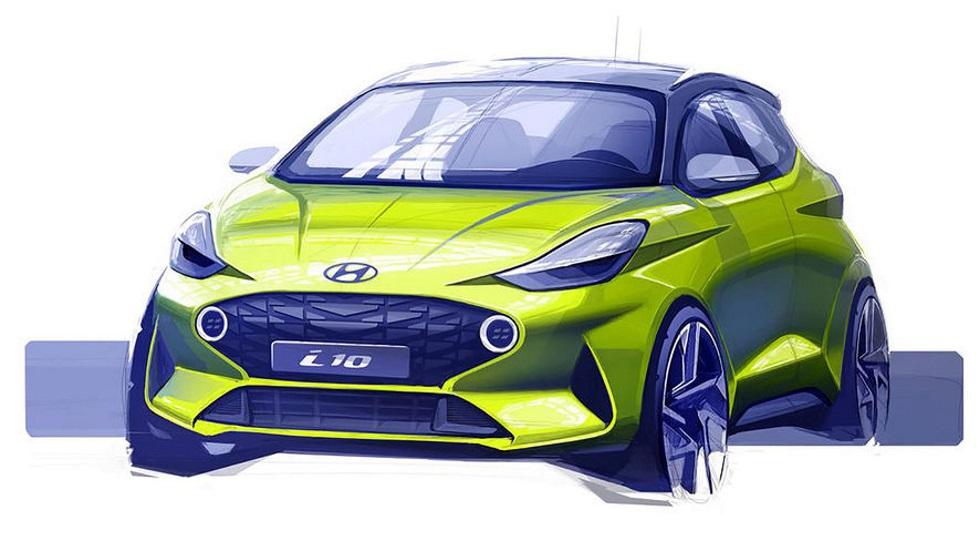Hyundai i10 2020: primeros datos y foto del nuevo modelo