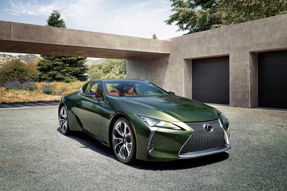 Lexus LC 2020: sofisticación técnica con apariencia clásica