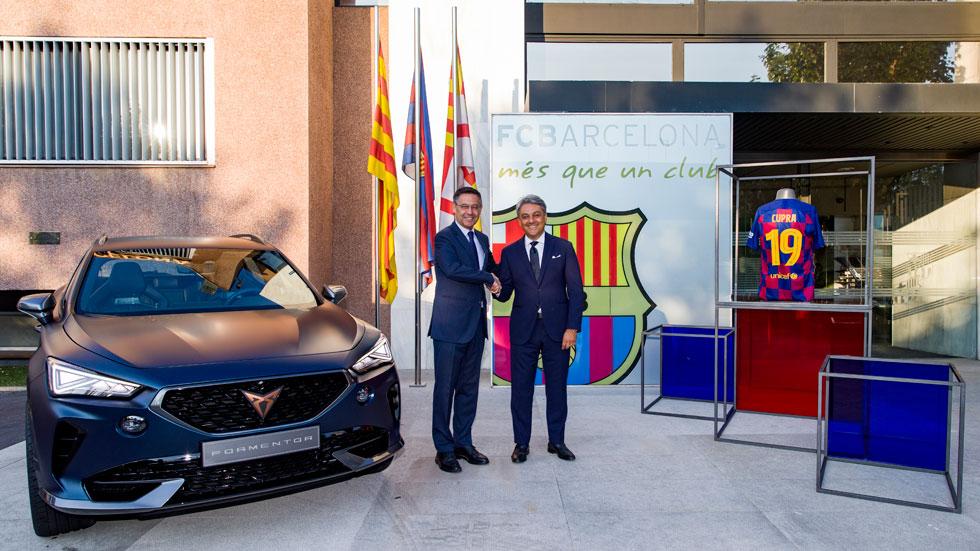 Cupra, la nueva marca de coches asociada al FC Barcelona