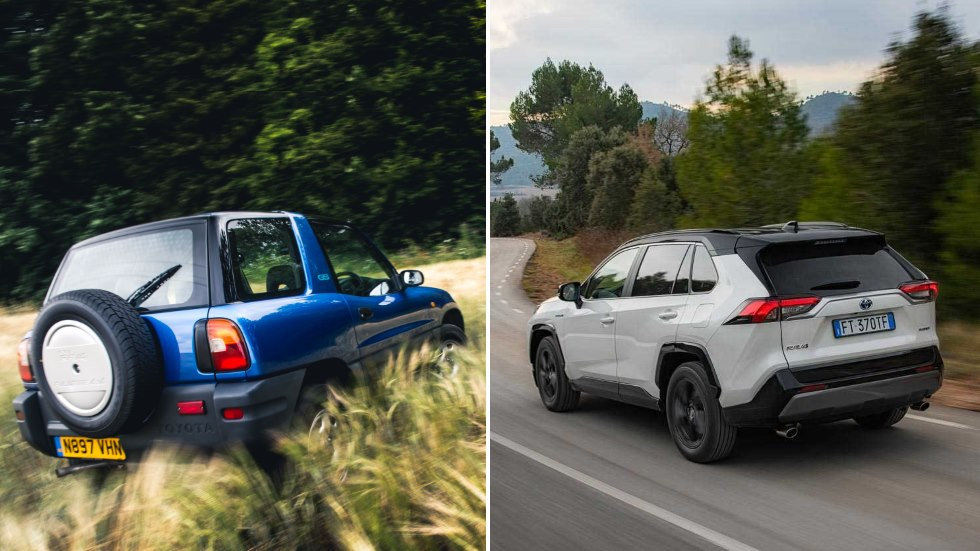 Toyota RAV4: fotos y datos del SUV pionero, que cumple 25 años