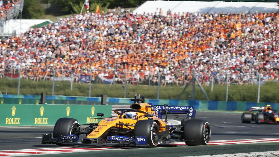 """GP de Bélgica de F1: Sainz intentará """"mantener la línea de la primera mitad del año"""""""