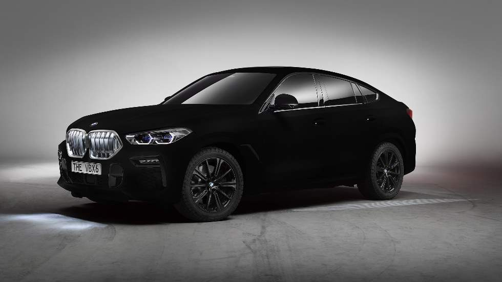 El nuevo BMW X6 2020 estrena en su carrocería el color negro más intenso del mundo