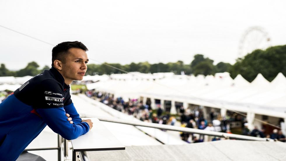 GP de Bélgica de F1: Alex Albon debuta en el equipo Red Bull