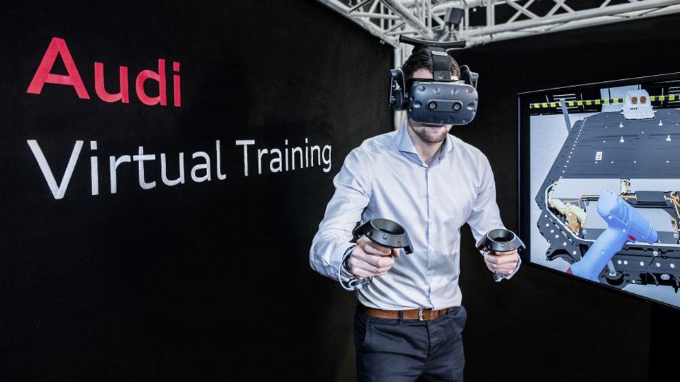 Audi e-tron GT: la realidad virtual, clave en la producción del nuevo eléctrico