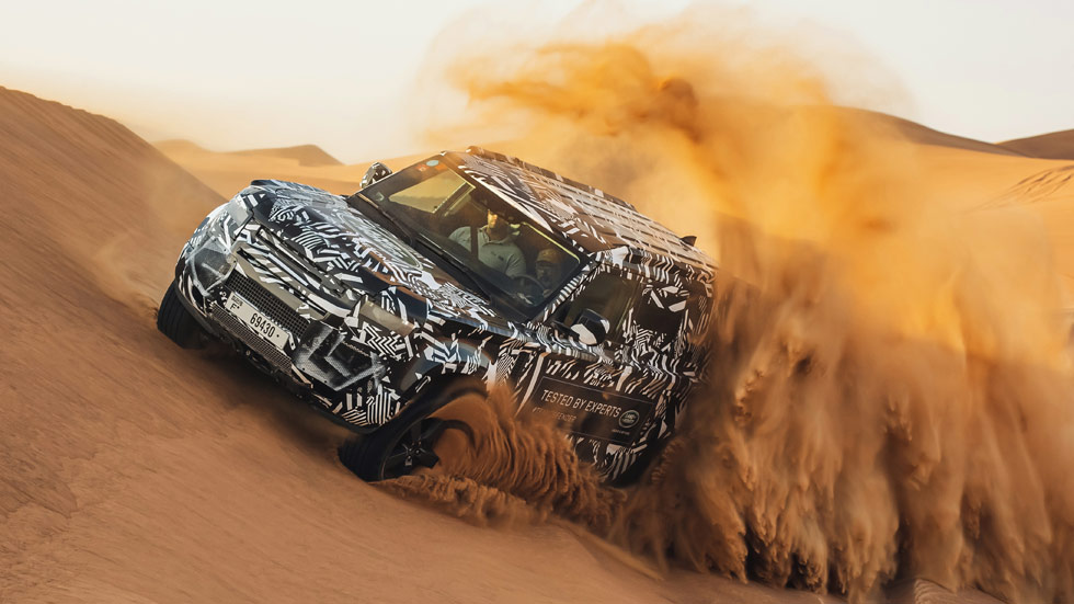 Land Rover Defender 2020: la nueva generación se estrena en septiembre (última hora)