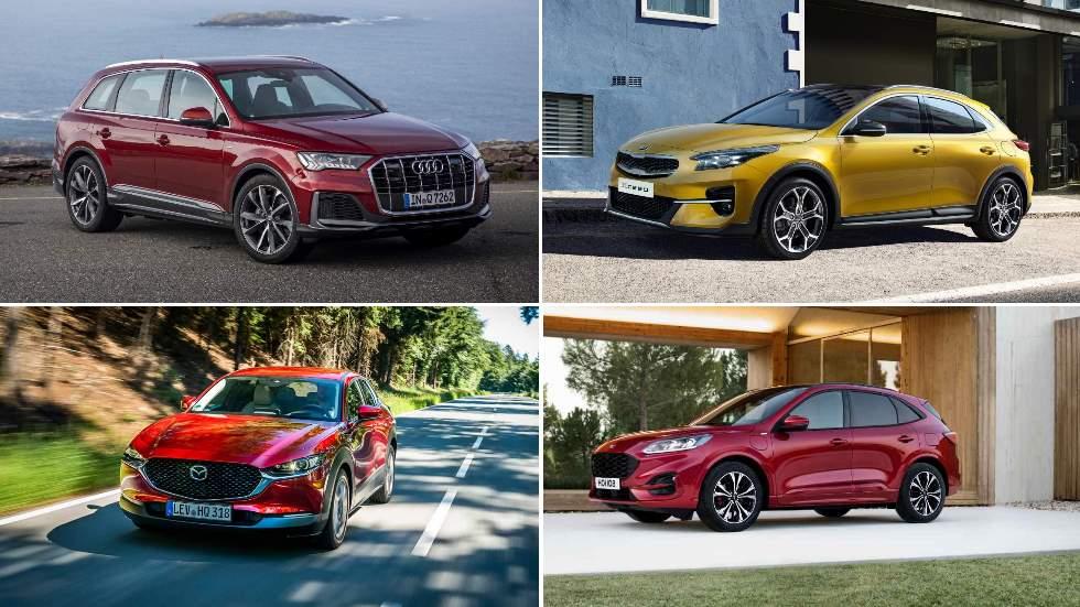 Todos los SUV que llegan los próximos meses: Ford Kuga, Mazda CX-30, Peugeot 2008…