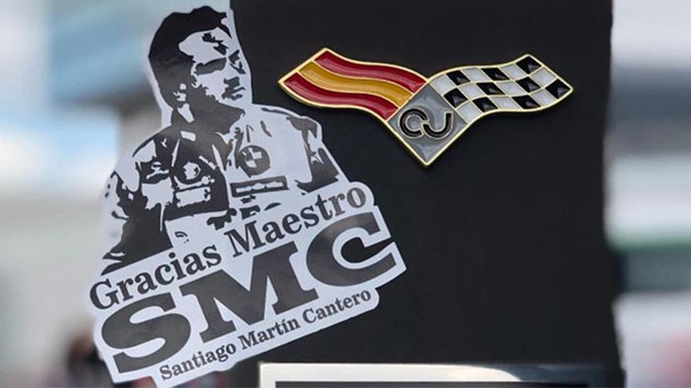 El Circuito del Jarama rendirá homenaje a Santiago Martin Cantero
