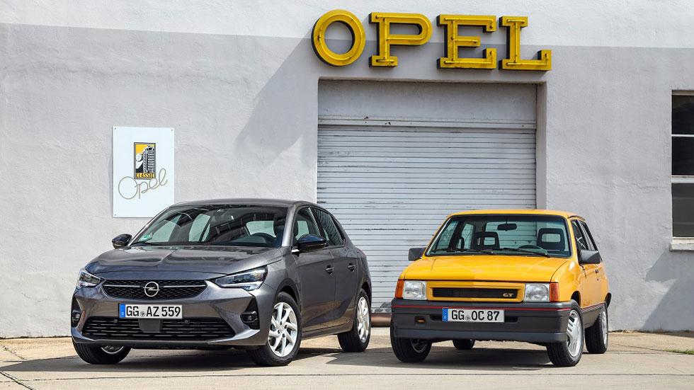 Opel Corsa GT I vs Opel Corsa 6: de 1987 a 2019