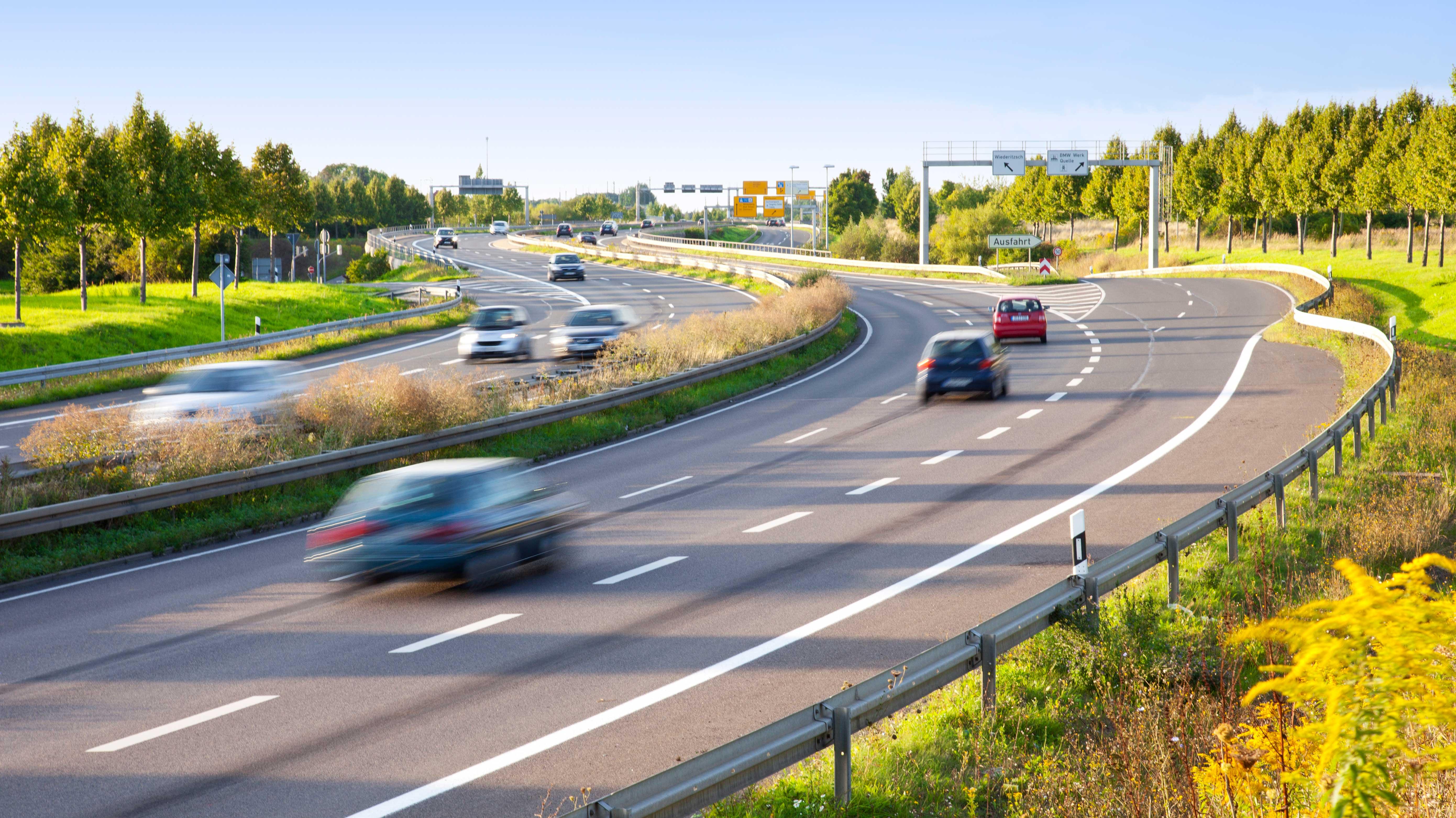 Los países europeos con los límites de velocidad más altos