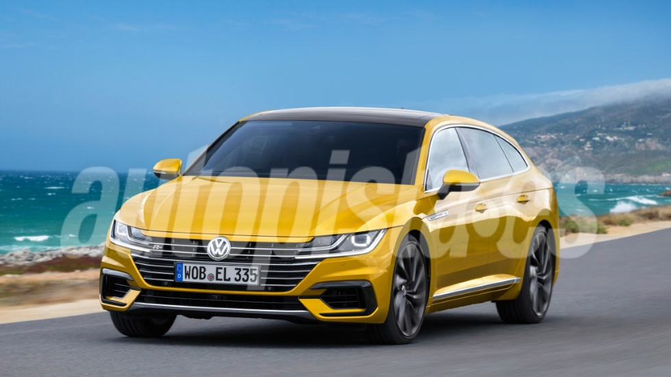 VW Shooting Brake: el nuevo coupé familiar, listo para 2020