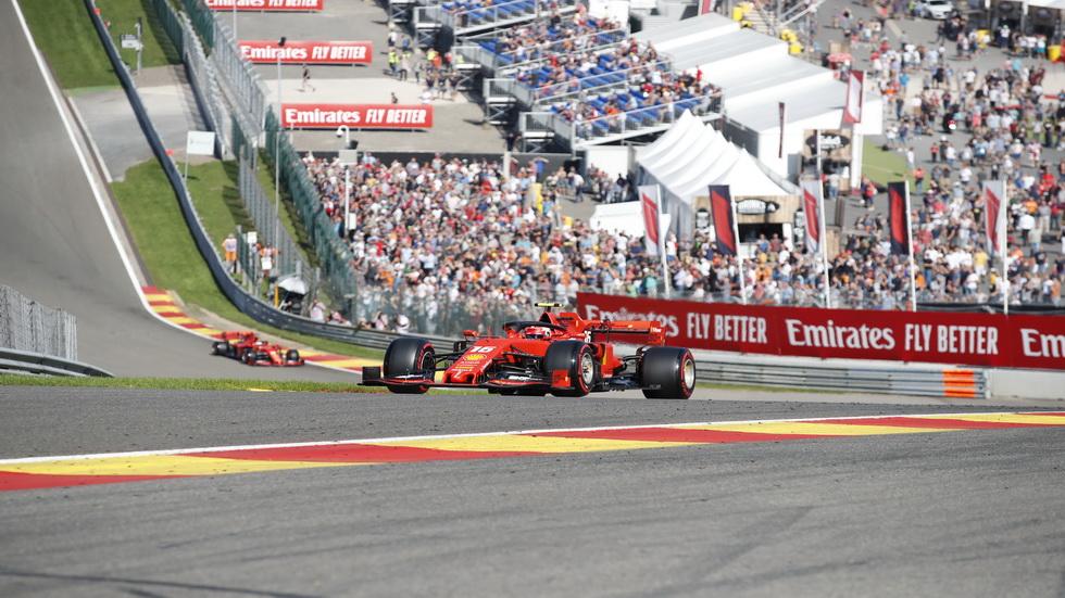 GP de Bélgica de F1 (FP2): Charles Leclerc, el más rápido