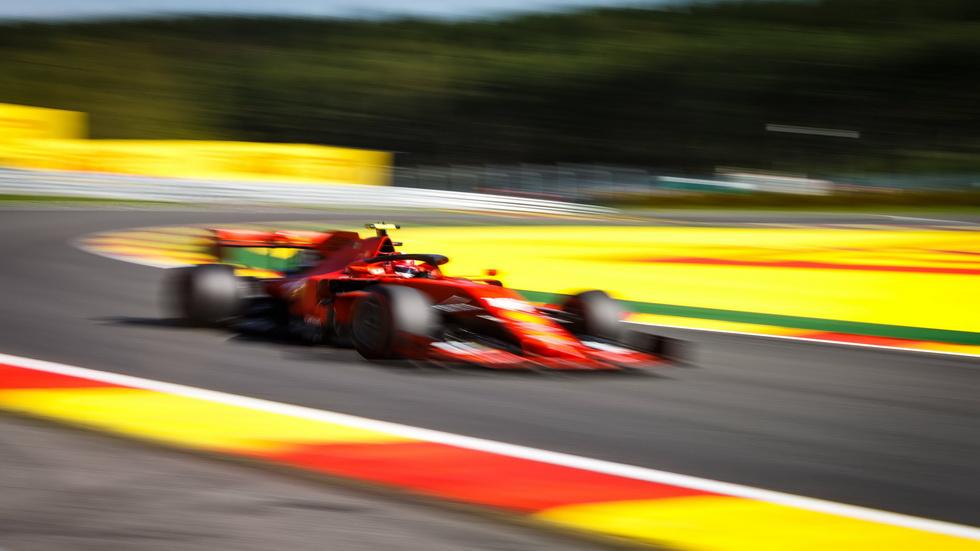GP de Bélgica de F1 (FP3): ¡otra vez los Ferrari!