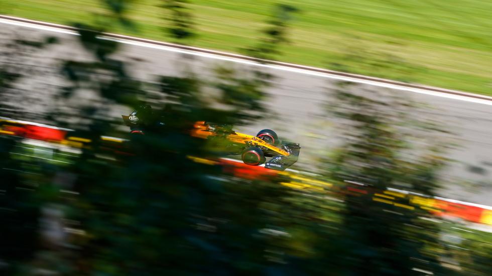 GP de Bélgica de F1 (Q): Sainz no disputó la Q2 por culpa de una bandera roja