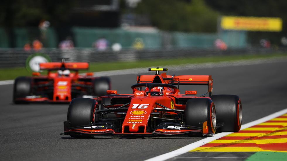 GP de Bélgica de F1 (Q): pole position de récord para Charles Leclerc