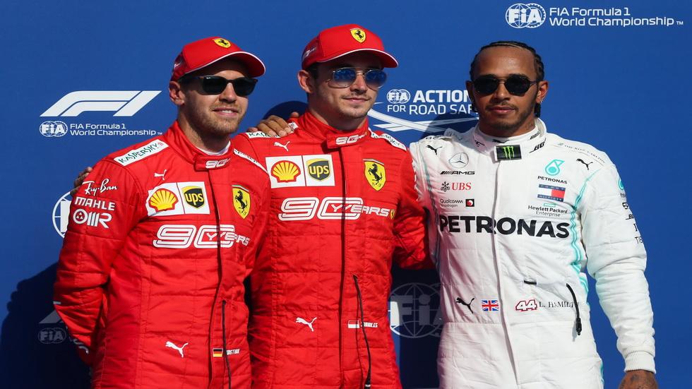 GP de Bélgica de F1: así queda la parrilla de salida