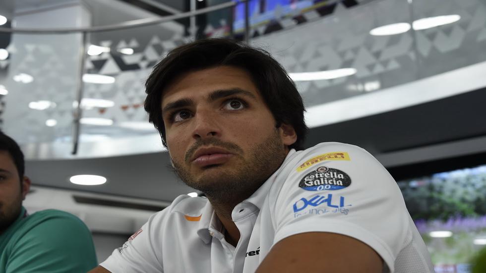 GP de Bélgica de F1: cumpleaños de Carlos Sainz