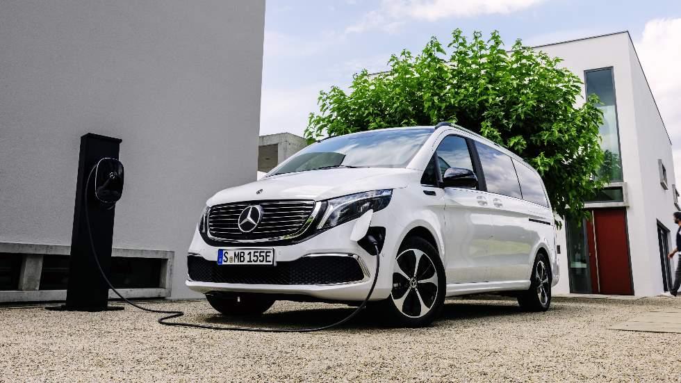 Mercedes EQV 2020: fotos y datos definitivos del nuevo familiar eléctrico