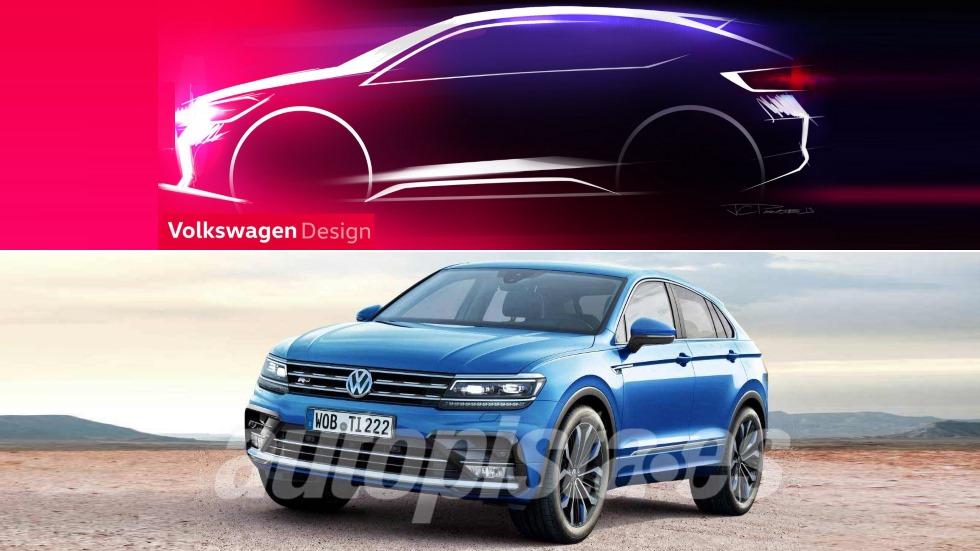 Los dos próximos SUV coupé de VW basados en T-Cross y Tiguan