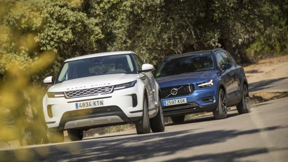 Range Rover Evoque D180 AWD vs Volvo XC40 D4 AWD: ¿qué SUV diésel es mejor?