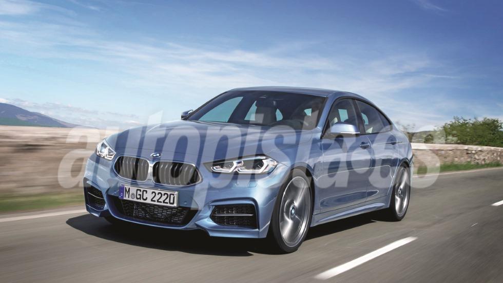 BMW Serie 2 Gran Coupé 2020: así será la nueva berlina, rival del Mercedes CLA