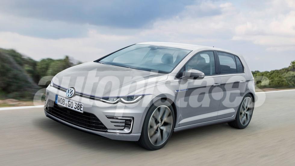 VW Golf GTE 2020: así es el nuevo compacto anti-diésel