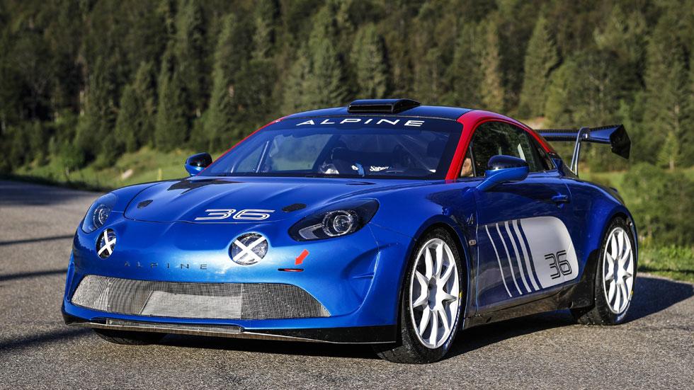 Alpine A110 Rally, el tercer modelo de competición del deportivo francés