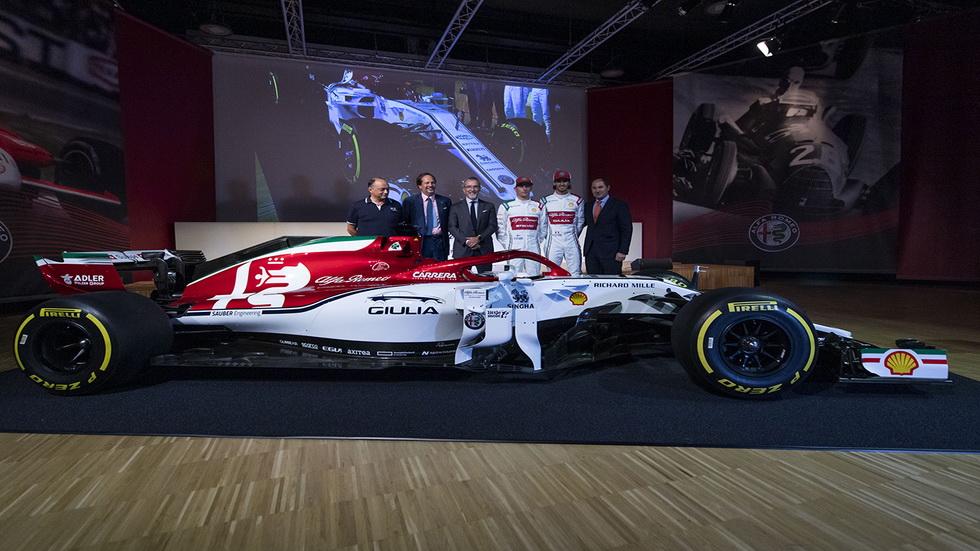 GP de Italia de F1: Kimi Räikkönen protagonizará una miniserie y el Alfa Romeo C38 luce una decoración especial