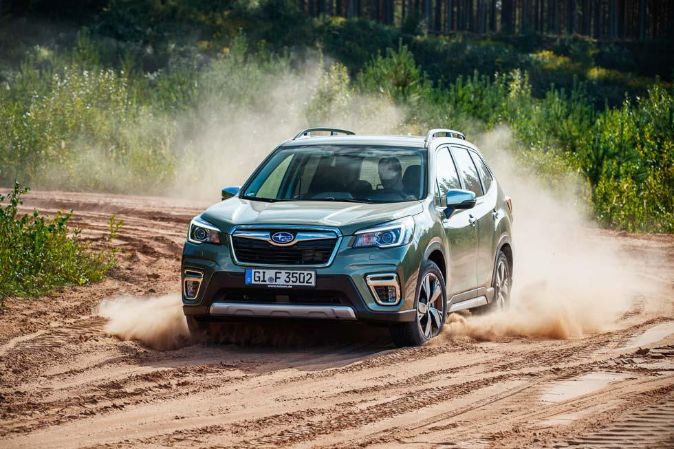 Subaru Forester Eco-Hybrid: probamos el primer SUV híbrido de Subaru