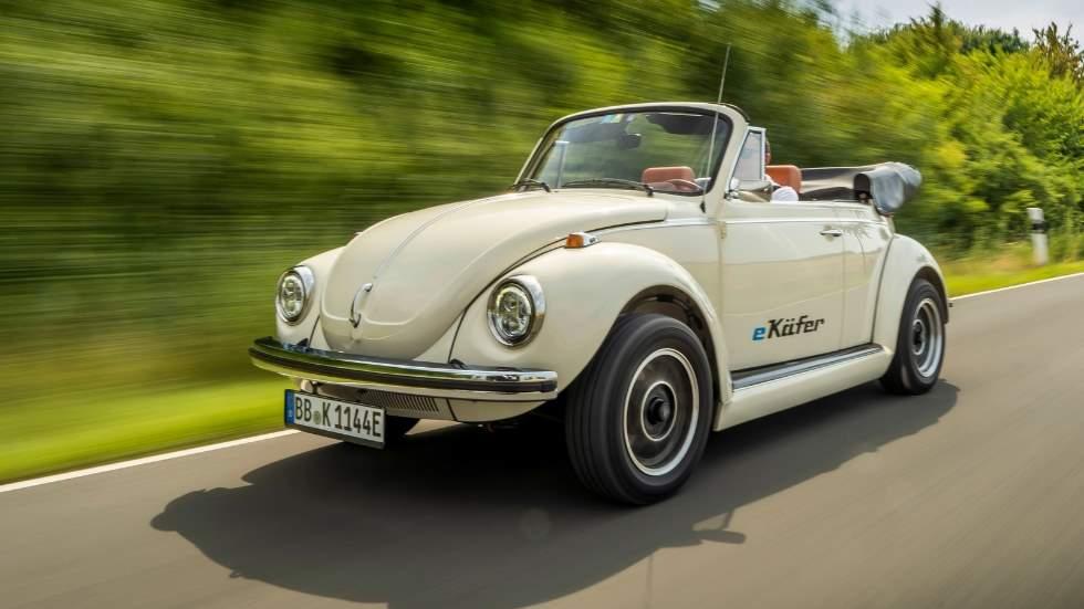VW e-Beetle: el nuevo Escarabajo, con piezas y componentes del eléctrico e-Up!