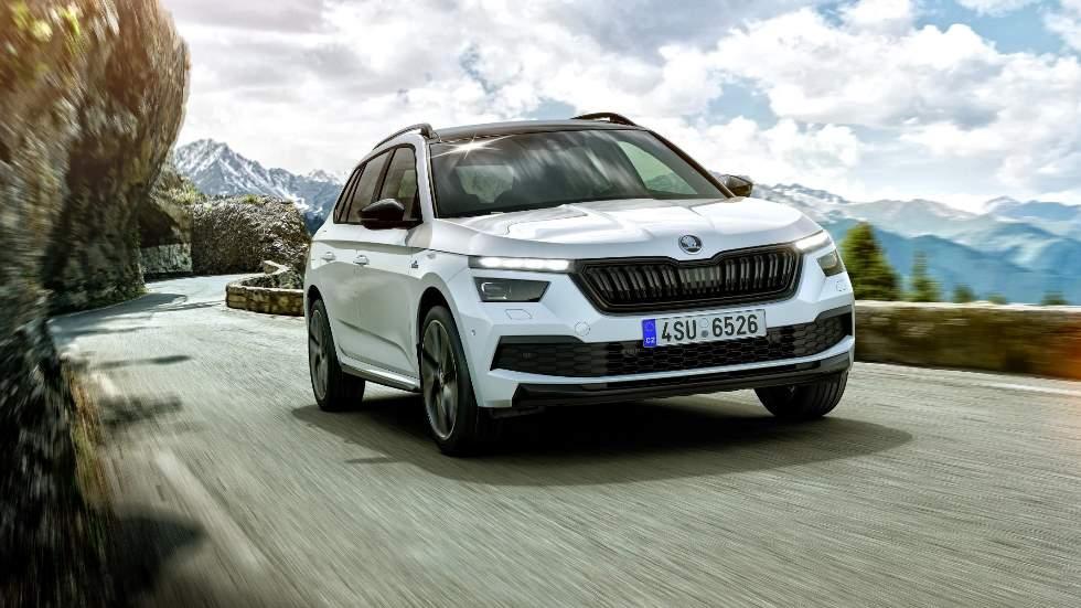 Skoda Kamiq Monte Carlo: el nuevo SUV pequeño se pone el traje deportivo