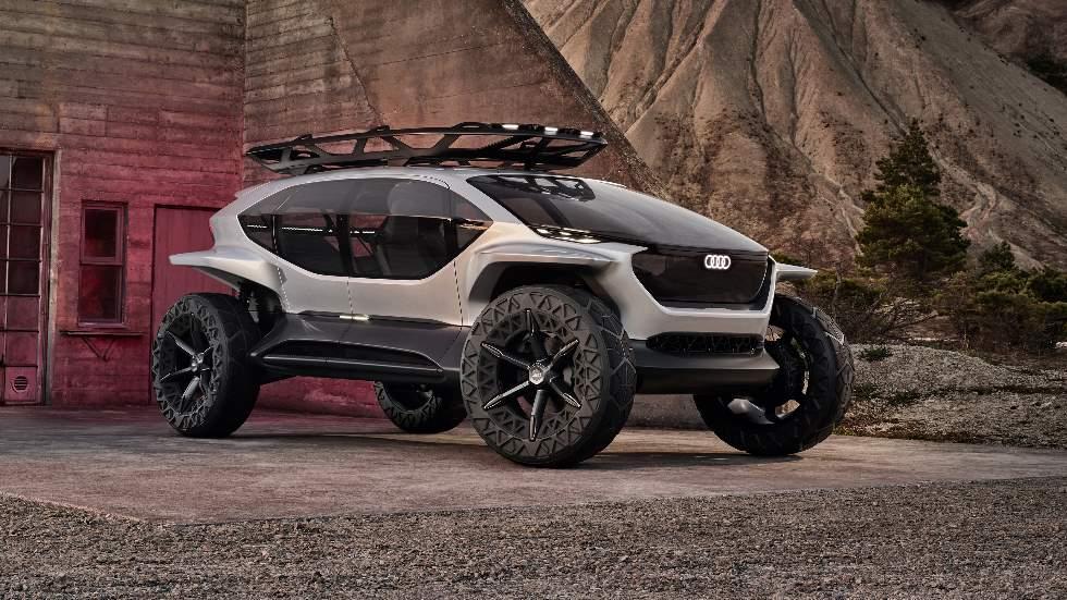 Audi AI:TRAIL, así será el súper todo terreno del futuro