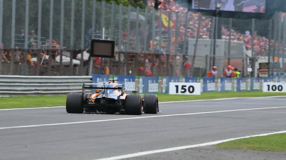 GP de Italia de F1: Sainz explica el lío de los rebufos en calificación