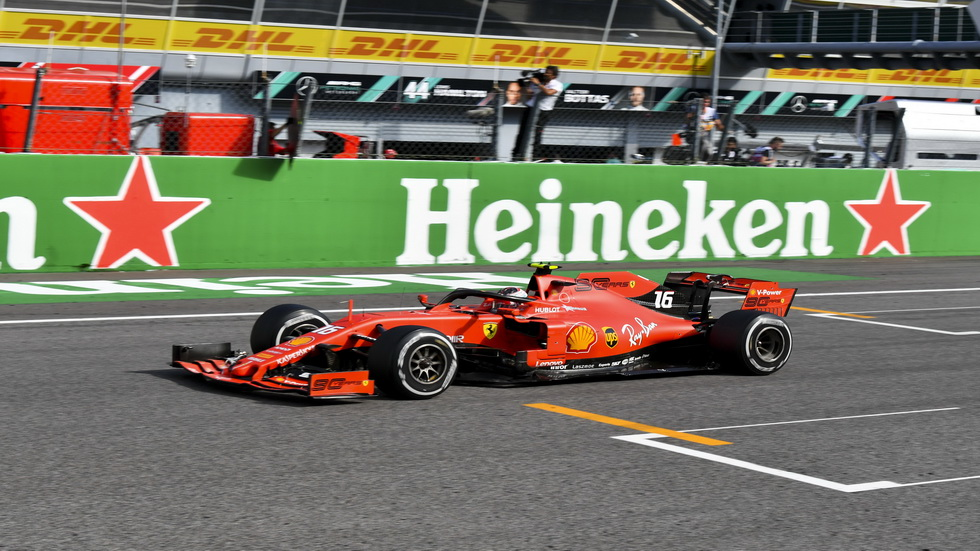 GP de Italia de F1: impresionante victoria de Charles Leclerc en casa