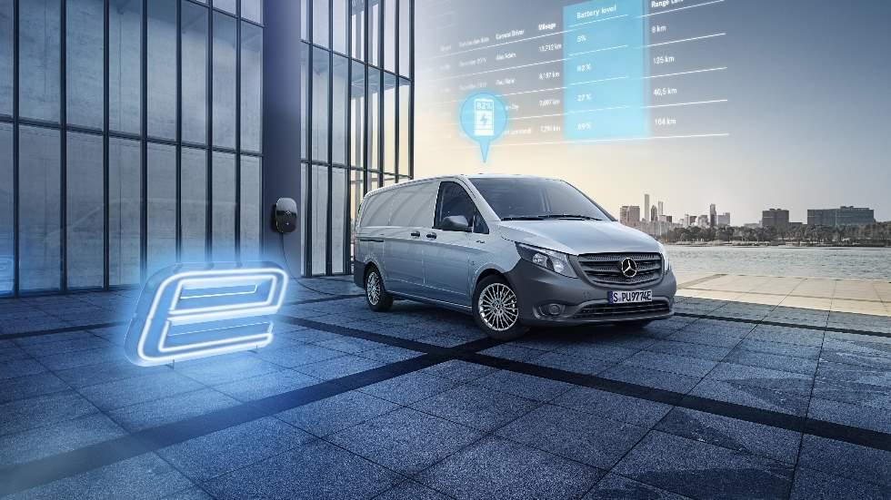 Mercedes eVito, ya a la venta: datos y precios para España de la furgoneta eléctrica