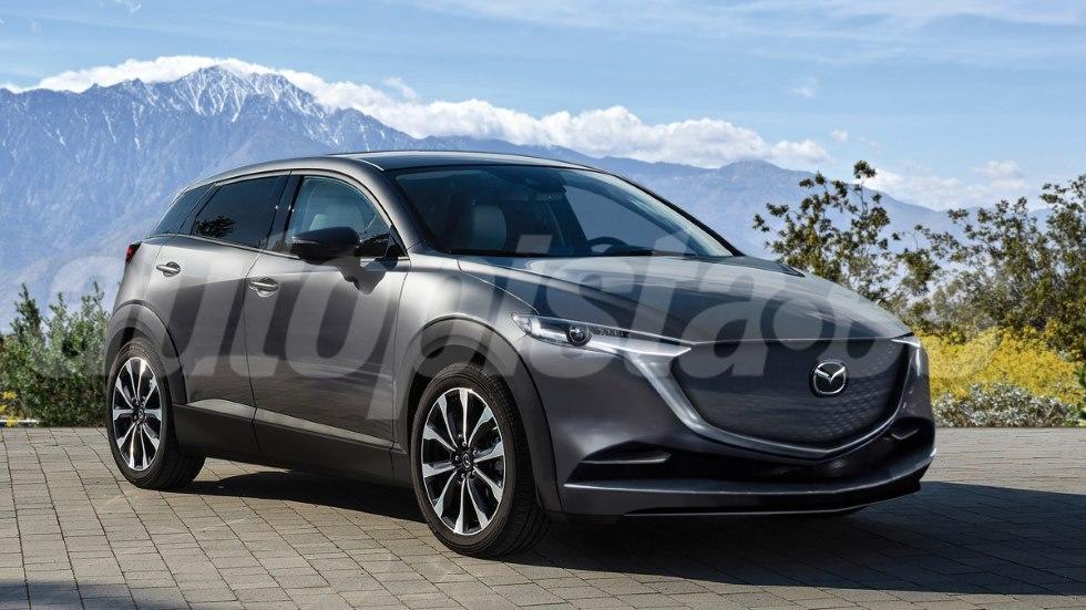 Mazda e-TPV: así será el próximo SUV eléctrico, que llega en 2020